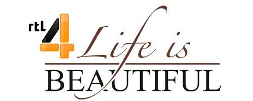 Afbeeldingsresultaat voor rtl4, logo, life is beautiful
