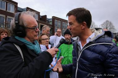 Minister-president Mark Rutte bezoekt Vlagtwedde (Video-Update)