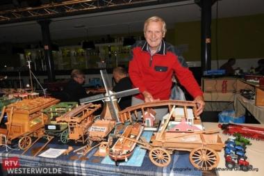 Veel belangstelling voor modelbouwbeurs bij Zaal 12 Vlagtwedde