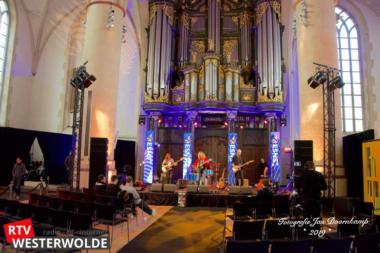 3FM live-sessies op Eurosonic in Martinikerk Groningen