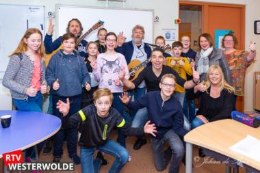 Leerlingen basisscholen Westerwolde oefenen voor Grunneger Laidjesfestival