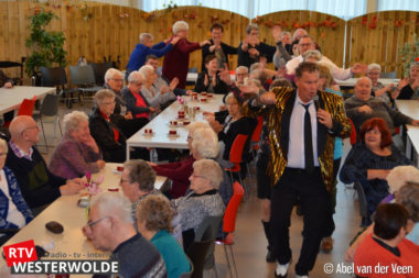 Gezellige nieuwjaarsvisite de Zonnebloem Oude Pekela e.o.