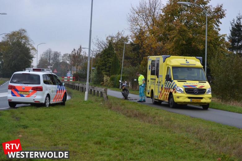 Motorrijder gewond bij ongeval Winschoten -.