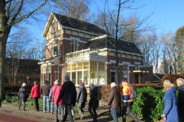 Verslag van Ooldrik Modderman van het ommetje door Bellingwolde en Vriescheloo