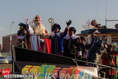 Intocht Sinterklaas in Winschoten; een feest voor iedereen