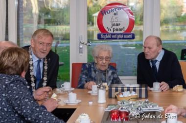 Echtpaar Ten Have-Kuiper uit Blijham 65 jaar getrouwd