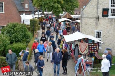 Herfstmarkt Bourtange trekt veel publiek