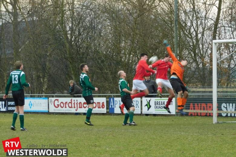 Westerwolde en Harkstede komen doelpuntrijk gelijkspel ...