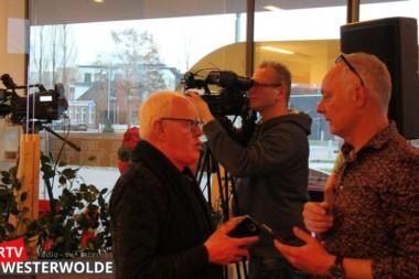 Collega's RTV Westerwolde brengen bezoek aan het Tafelhuis