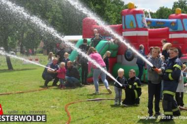 Veel belangstelling voor Open Dag brandweer Winschoten