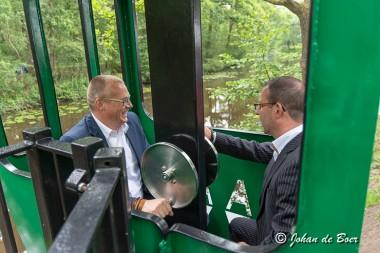 Kabelbaan Ter Apel officieel geopend
