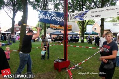 Shantykoor uit Spier zorgt voor vrolijke noot op derde zomeravondmarkt Sellingen