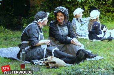 Première theatervoorstelling van 'Geertje Gepkea Trenning, prinses van Veele' goed bezocht