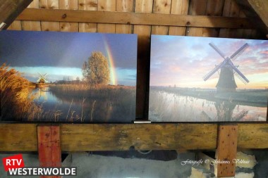 Harmen Piekema exposeert in molen de Korenbloem Vriescheloo