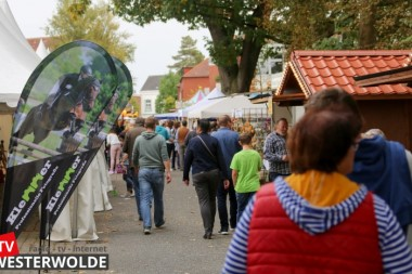 Veel belangstelling voor de Michaelismarkt in Weener